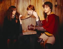 An outbreak of lice occurred among the children cast members during the filming of Philosophers Stone.....