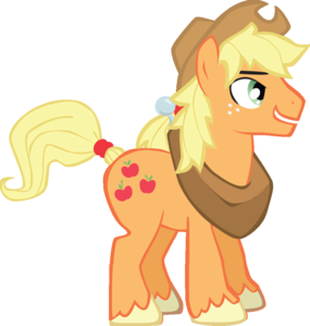 What is the name of Applejack's gender swap pony?