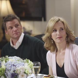 What does Lynette say is the only response she should be hearing from Tom concerning her setting up Nora with someone?