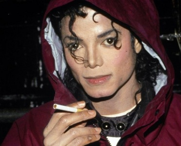 Did Michael smoke cigarettes?