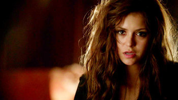 """5x01 """"I Know What You Did Last Summer"""", when Damon offers to turn Katherine back to a vampire, she refuses. Why?"""