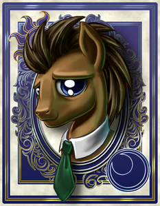 T/F: Dr. Whooves/Time Turner had a speaking role in the series.