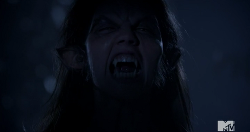 Who is this person in their werewolf form in this scene.