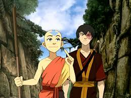 What kind of dance moves aang and zuko did?