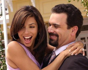 What happens towards the end of Bree & Orson's wedding reception while Gabi & Carlos are arguing?