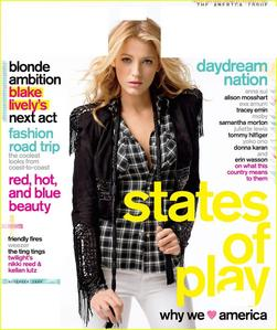 What magazine cover is this that Blake is on?