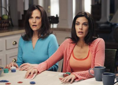 What does Susan/Terri & her mom Sophie/Lesley have in common in real life?