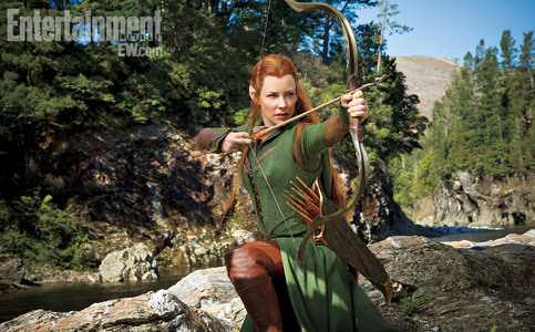 According to the book: Tauriel is based on