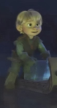 Who voiced young Kristoff?