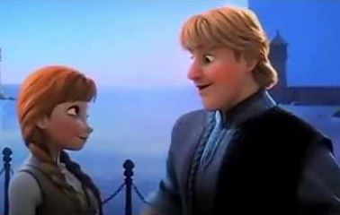 Where did Anna and Kristoff first meet?