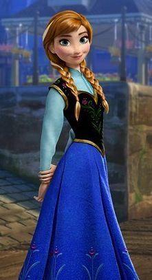 Who voices Anna?