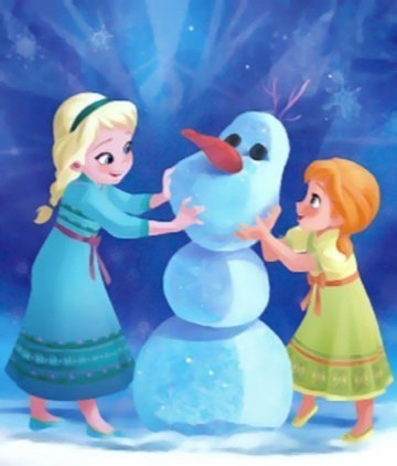 "How many parts are in the song, ""Do Du want to build a snowman?"""