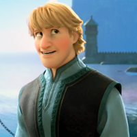 Who skates with Kristoff in the end?