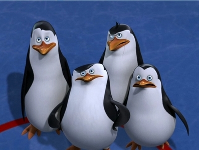 In Hot Ice, what time was it when the penguins started to watch the zoo footage to when the criminals were in the zoo?