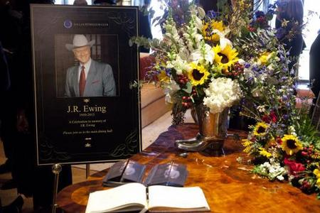 "Larry Hagman (JR Ewing) from both the original ""Dallas"" and the new ""Dallas"" played whose stepfather?"