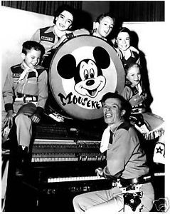"This is the original cast of ""The Mickey Mouse Club"" from 1955-59"