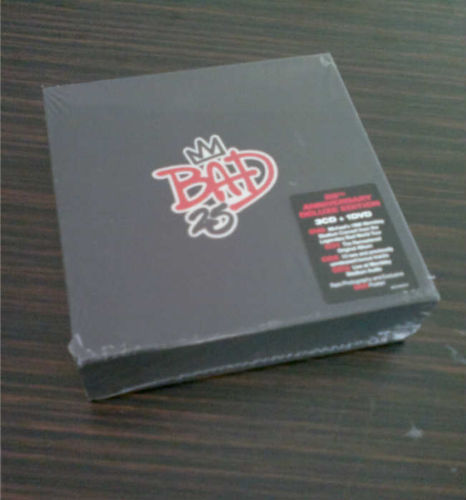 """The """"25th"""" Anniversary edition of """"Bad"""" was released on Tuesday, September 18, 2012"""