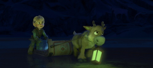 What species of deer is Sven?