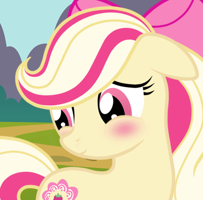 Who is this pony? Is she a real character?