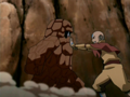 What element did aang had trobelm with?
