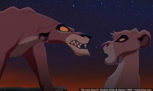 Zira trained Kovu to kill Simba, what did she trained Vitani for?