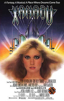 In Xanadu what is the song sung in the animated scene?