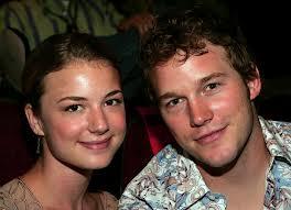 True or False: One Emily's Ex-boyfriends is her Everwood co-star Chris Pratt?