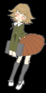 Why does Chihiro Fujisaki dress like this?
