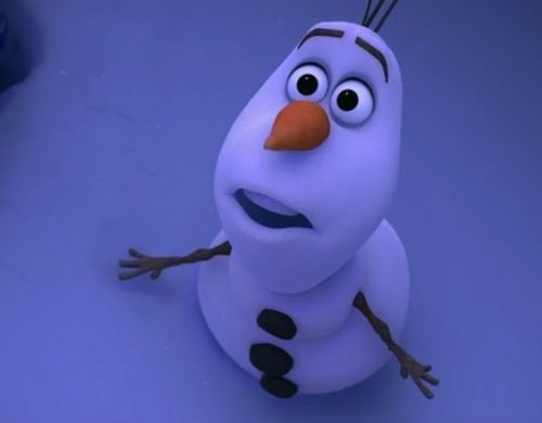 """What does Olaf say in this scene """"I don't have a _____... of _____"""""""