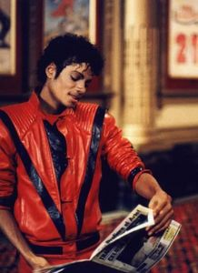 """Behind the scenes in the making of """"Thriller"""""""