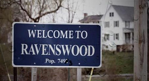 Who were the first ones to enter Ravenswood?