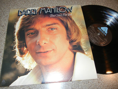 """""""This One's For You"""", Barry Manilow's fourth album, was released in 1976"""