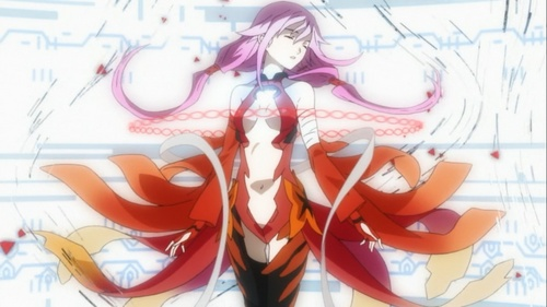 In which episode did inori go to fight with GHQ?