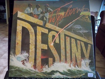 "What year was The Jacksons album, ""Destiny"", released"