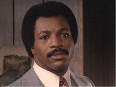 Who played Apollo Creed in Rocky?