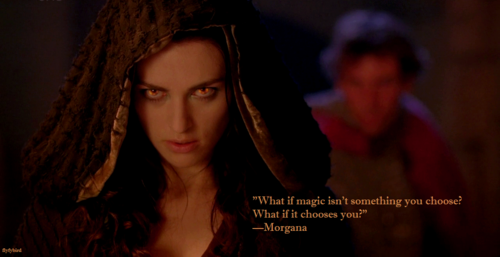 Morgana was a witch and a..........