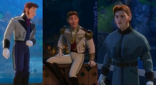 How many fringes does Hans's outfit have?