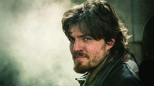 Who plays Athos?