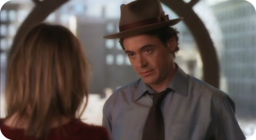 What was the name of the character played by RDJ  in Ally McBeal?