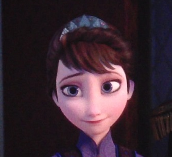 Who voices the Queen of Arendelle, Anna and Elsa's mother?