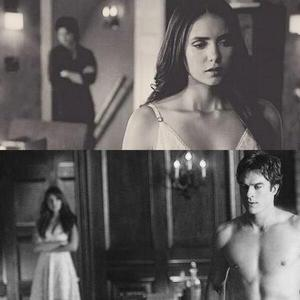 Delena parallel from episodes ___ and ___