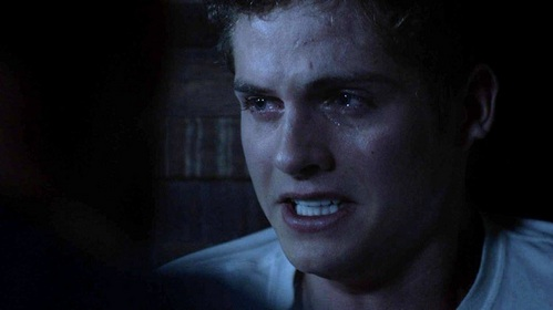 Who is Isaac talking to in this scene.