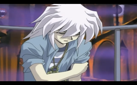 who was to blame for the wounded arm Bakura?