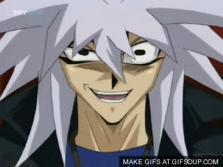 Witch episode did bakura give off this look