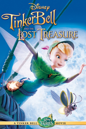 When was Tinker cloche, bell and the Lost Treasure released?