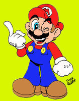 What Color Was Mario Boots?