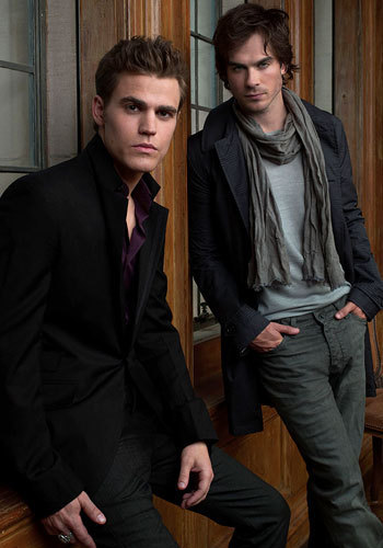 True or False: Damon and Stefan used to play football together and that's how Stefan knew how to play.