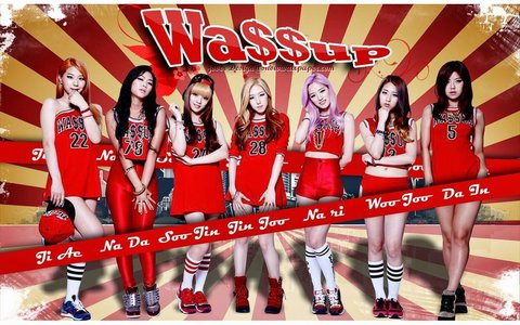 When did Wa$$up debut?