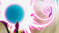 What did Milliana's kitten blast score on the Magic Power Finder?