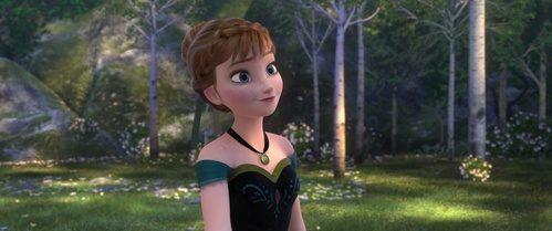 Anna is the ______ Disney princess to have a green dress.